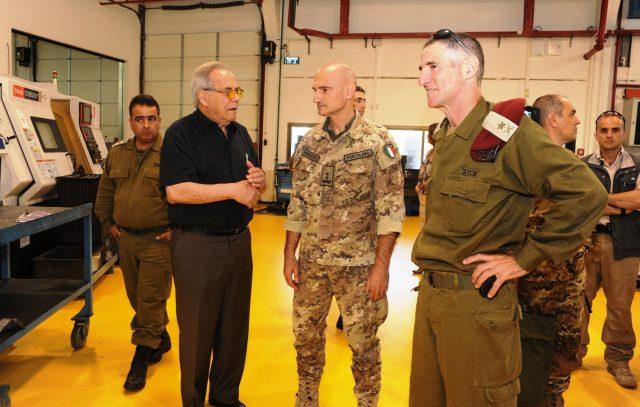 Visit of UNIFIL Major